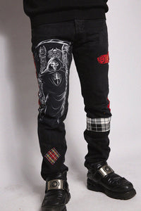 Jeans Black Punkish