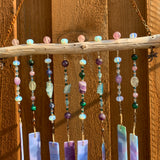 Purple Cosmos ~ Wind Chime ~ Sun Catcher
