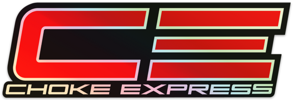 CHOKE EXPRESS HOLOGRAPHIC STICKER