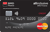 Cardul de credit de la Card BRD Finance