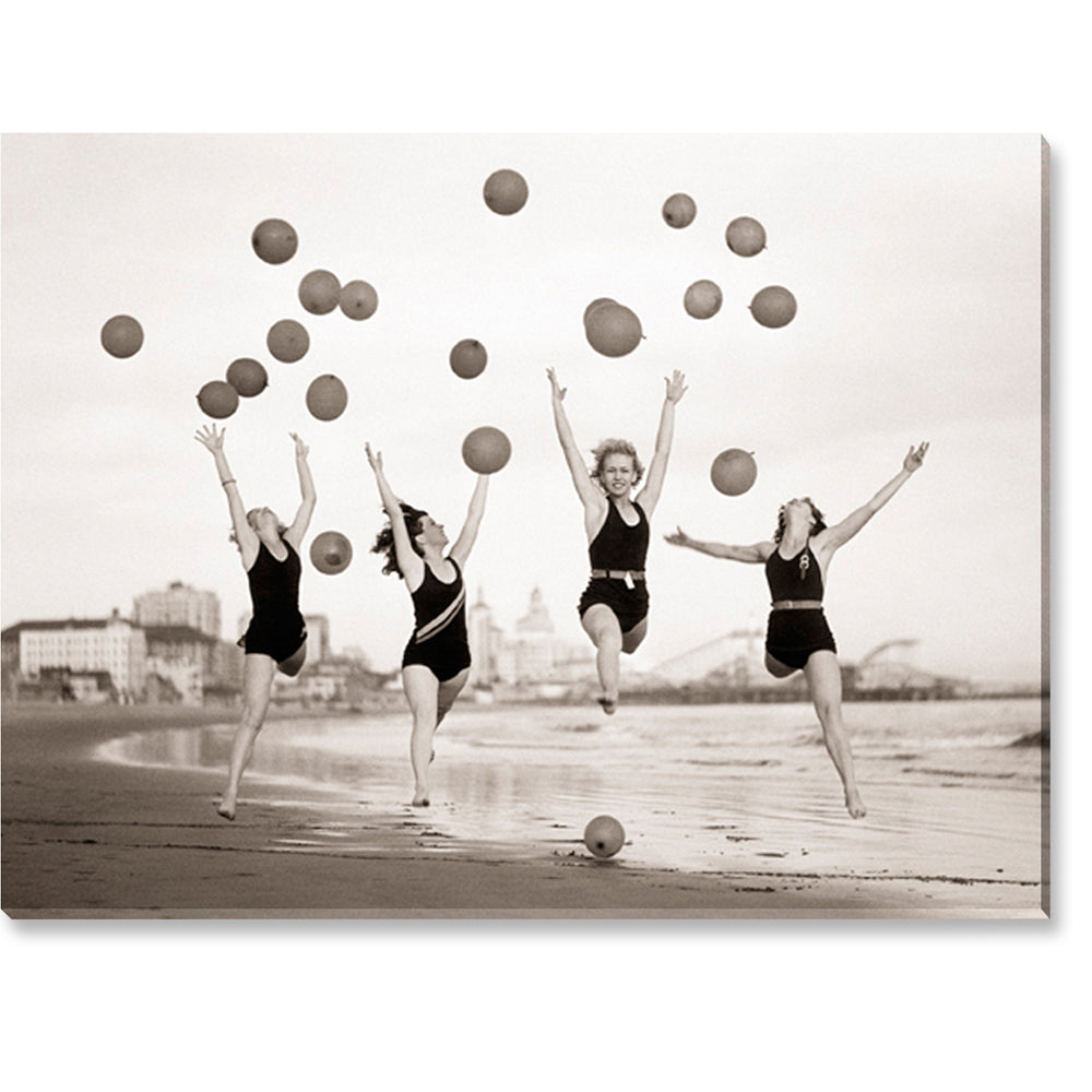 Tablou canvas 60x80 cm BALLOON DANCERS