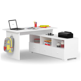 UNI WHITE Comoda TV, 3 sertare