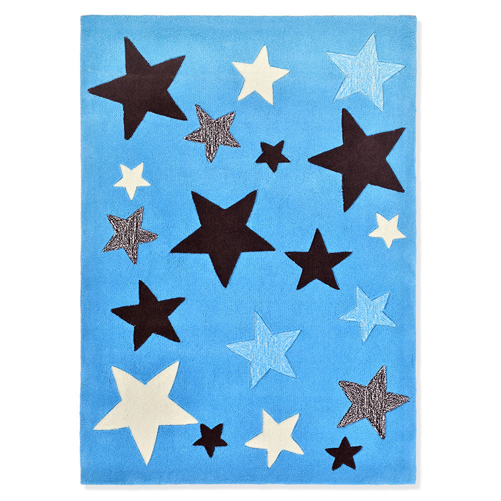 Covor camera copii 100x140 cm STARS