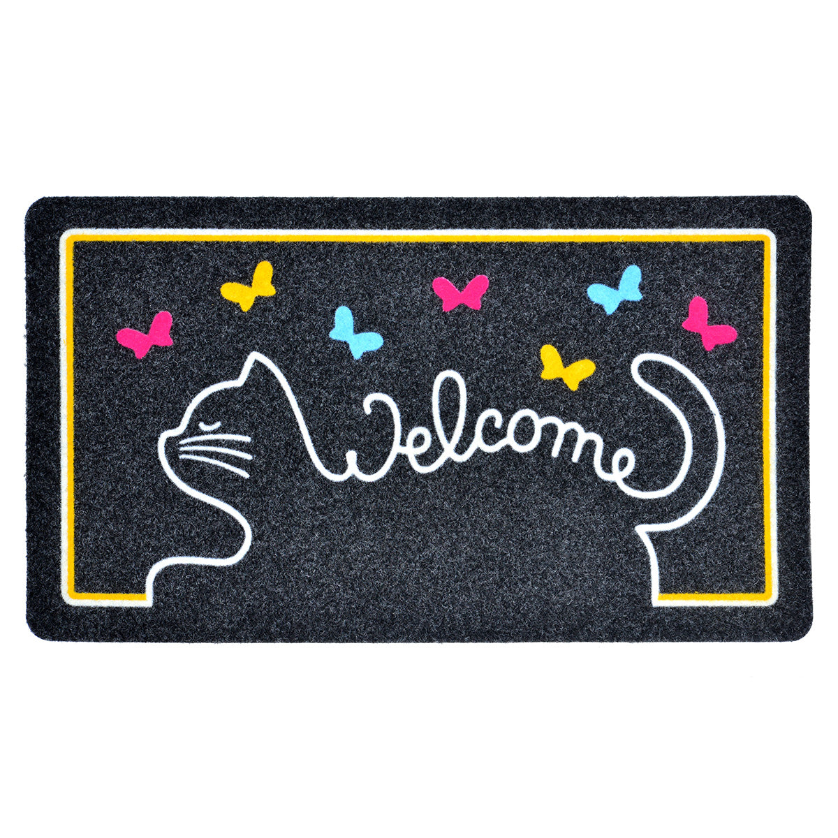 Covoras intrare 40x70cm CAT WELCOME TRENDY