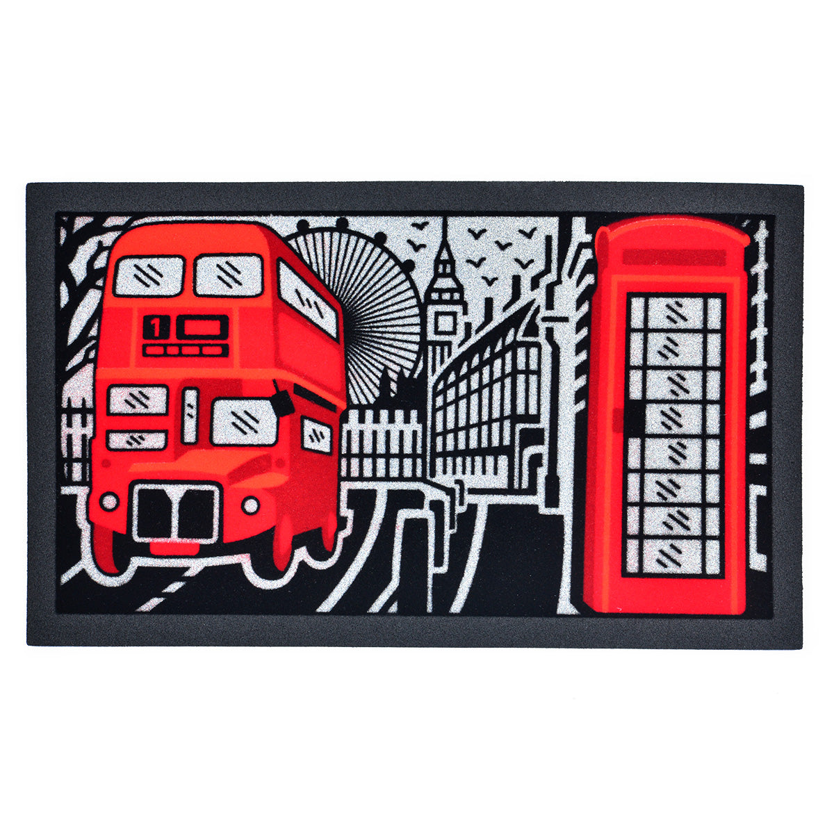 Covoras intrare 40x68cm LONDON FORMAT