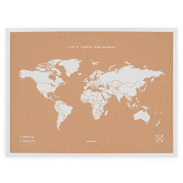 Decoratiune perete MY WORLD WHITE