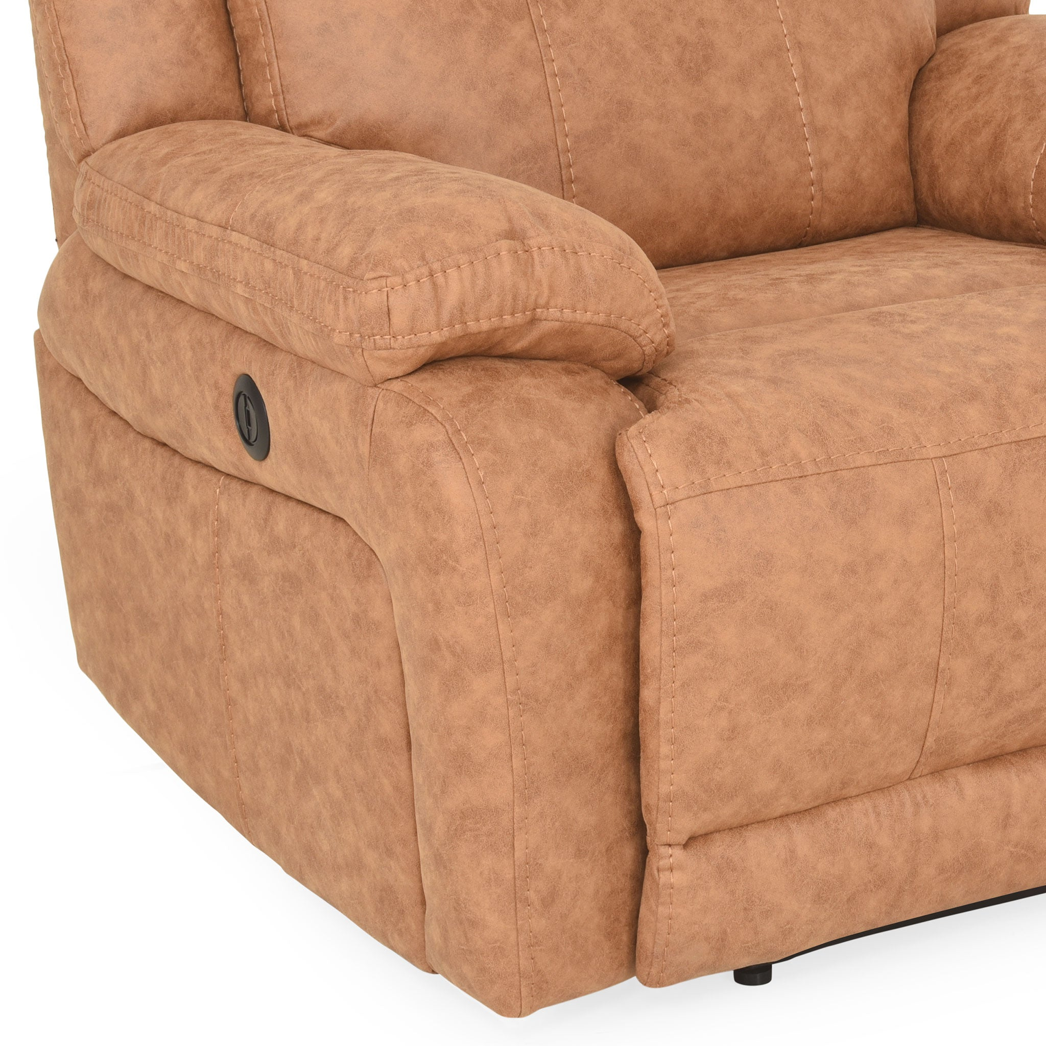 DERBY Fotoliu stofa, recliner electric