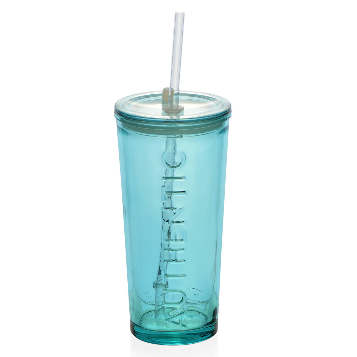 AUTHENTIC Pahar cu pai, 500ml