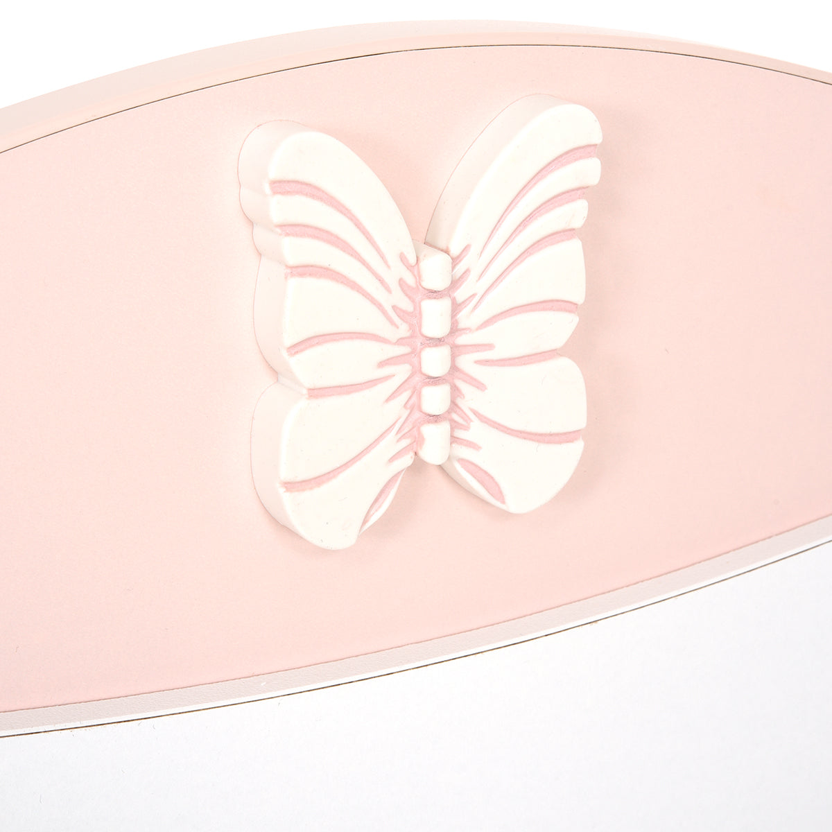 BUTTERFLY Patut bebe 80x180cm, convertibil in Junior, comoda inclusa