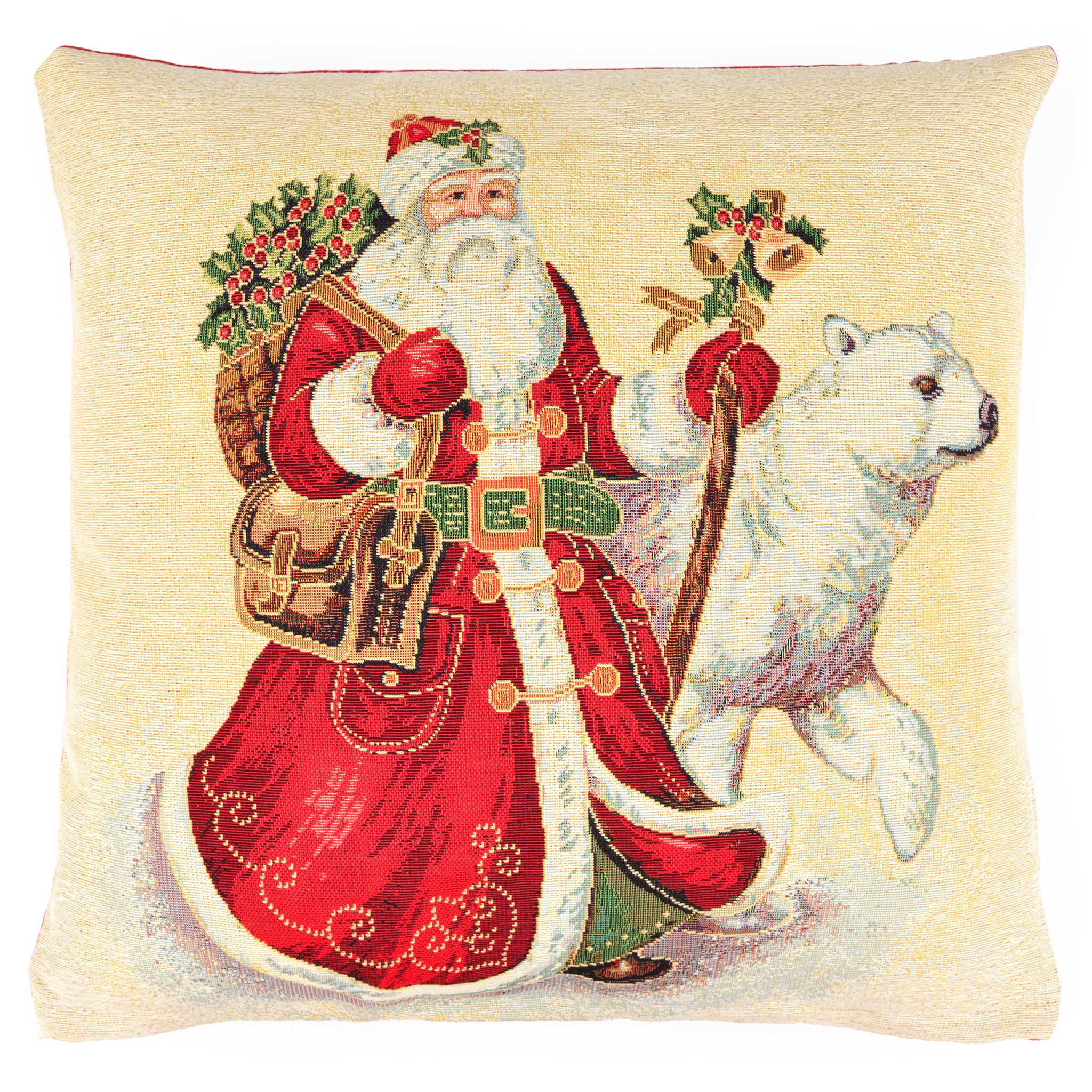 BIG SANTA Perna Decorativa 45x45