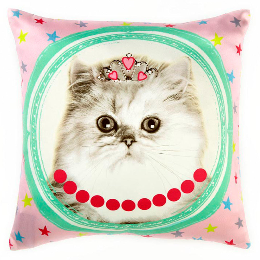Perna Decorativa 45x45 HALL OF FAME CAT
