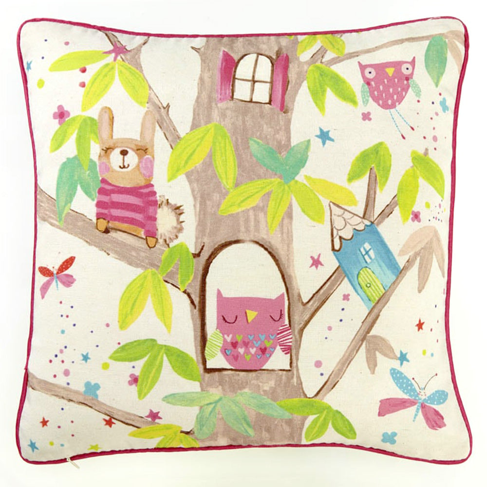 WOODLAND FAIRIES Perna Decorativa 45x45