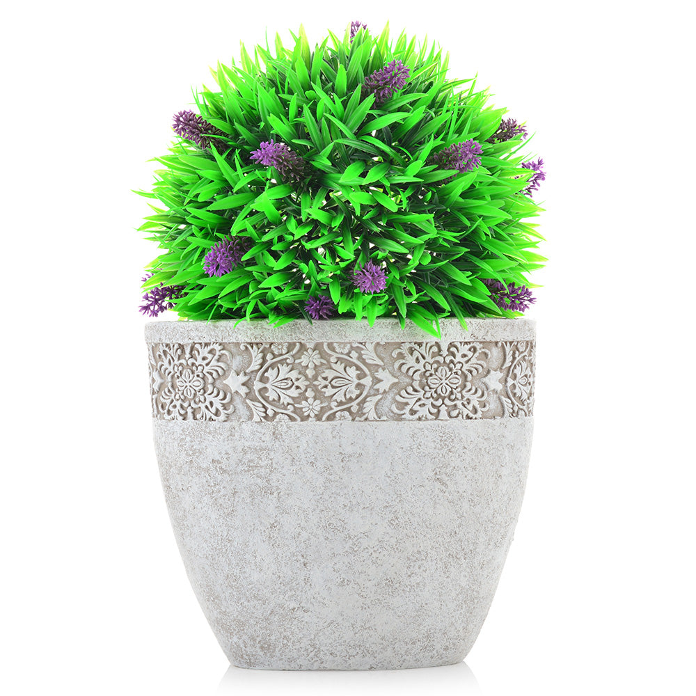 LAVANDER BALL Planta artificiala