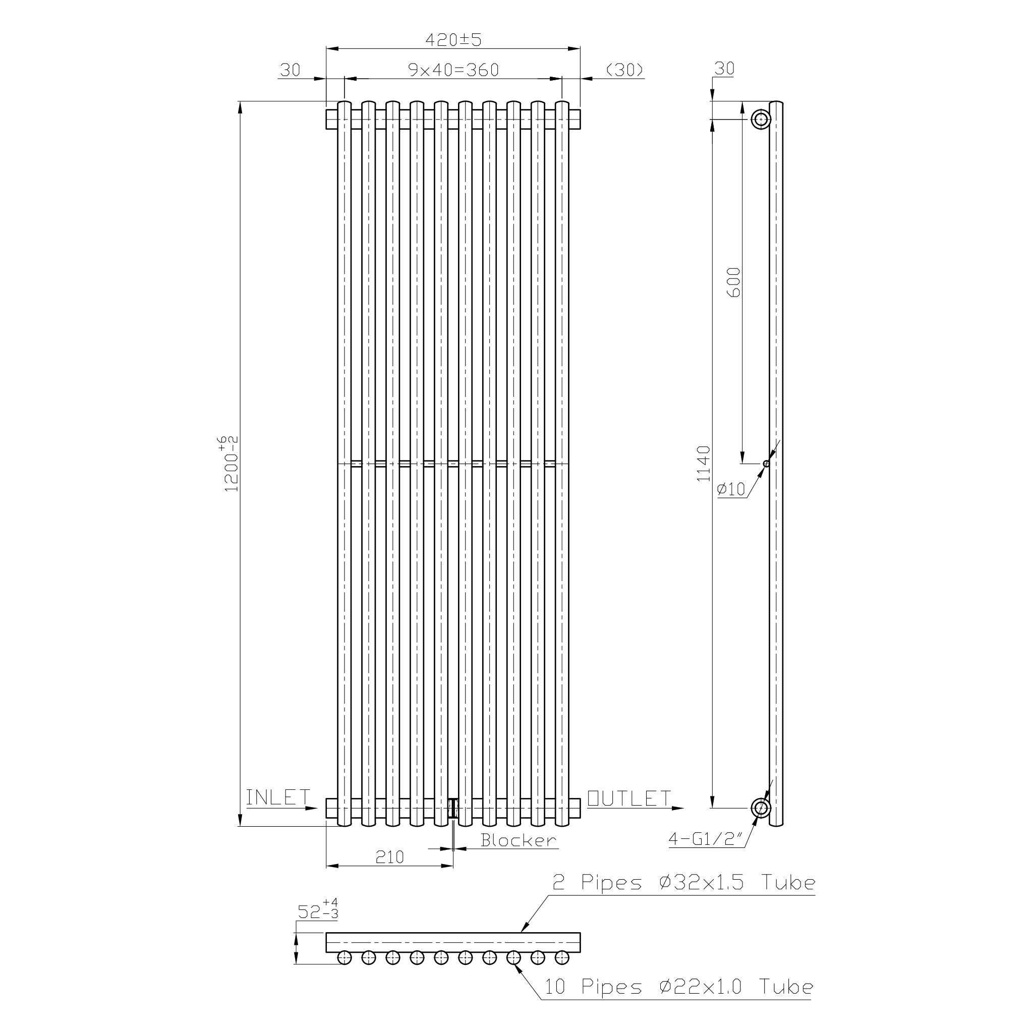 OPTIM Radiator port prosop