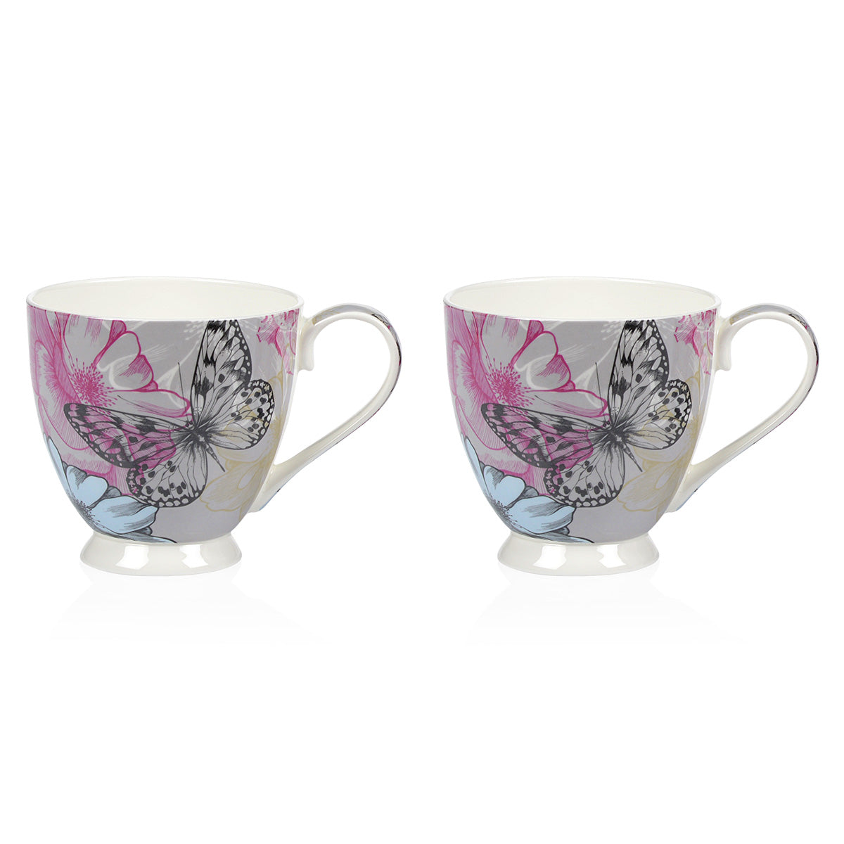 Set 2 cani, 420ml BUTTERFLY