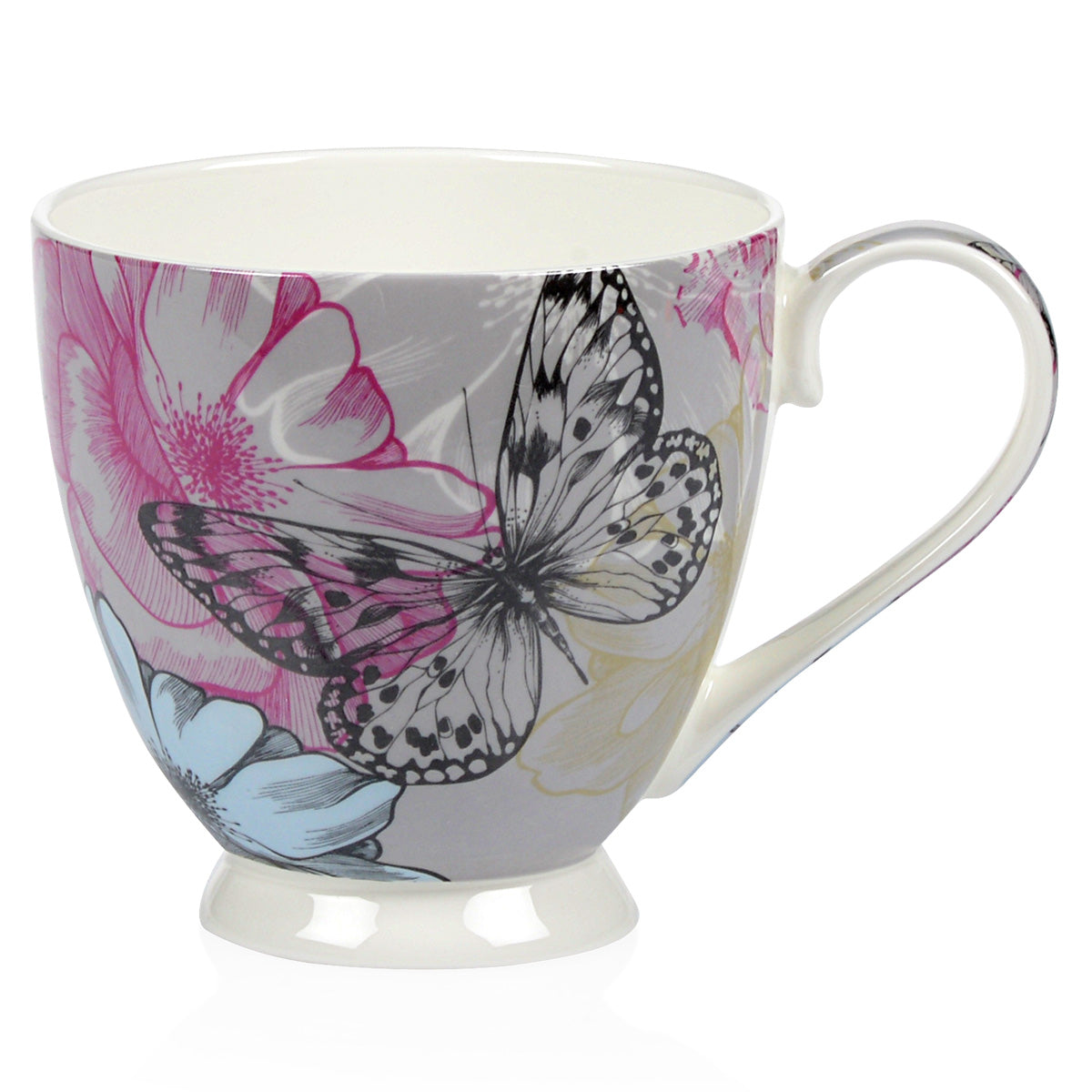 BUTTERFLY Set 4 cani, 420ml