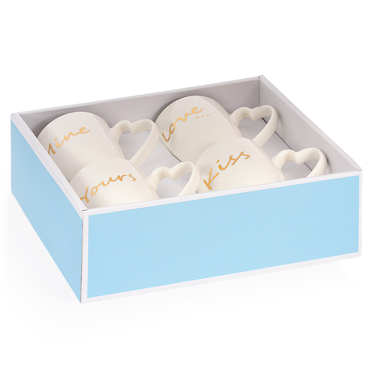 HEART Set 4 cani, 320ml