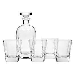Set 4 pahare whisky + sticla DUCALE