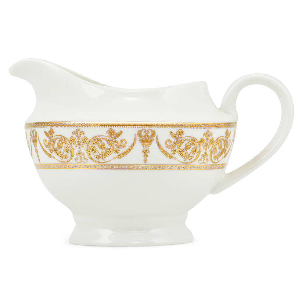 MAGNIFICENT GOLD Set vesela, portelan Bone China, 44 piese