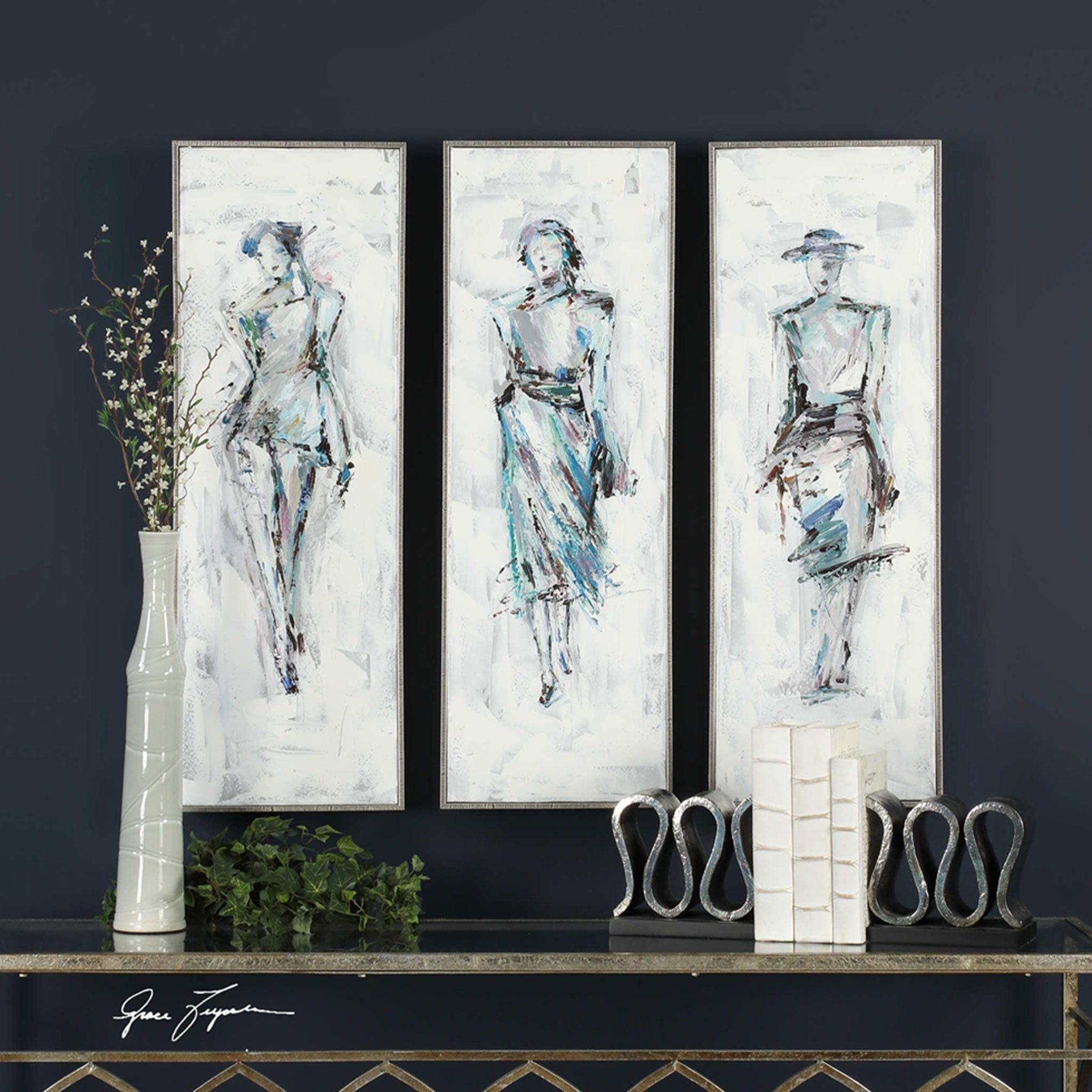 STYLING II Tablou canvas 33x95cm