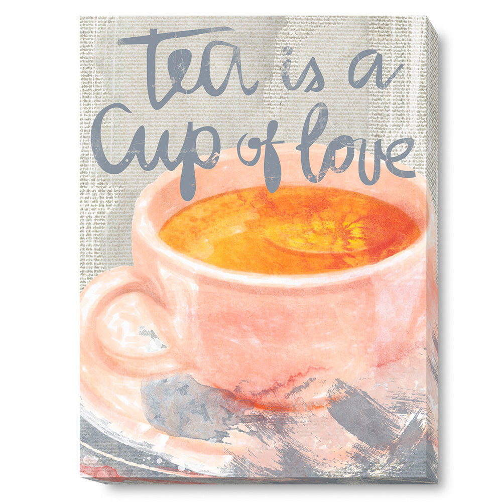 Tablou canvas 60x80 cm CUP OF LOVE