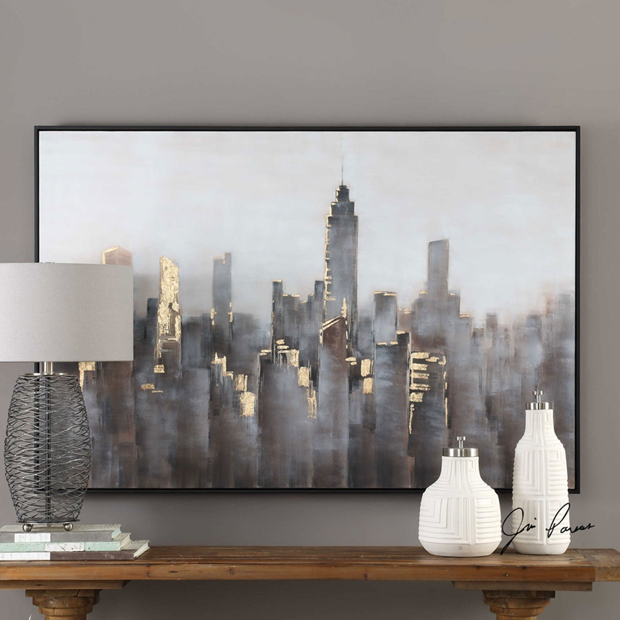 SKYLINE Tablou canvas 155x104cm