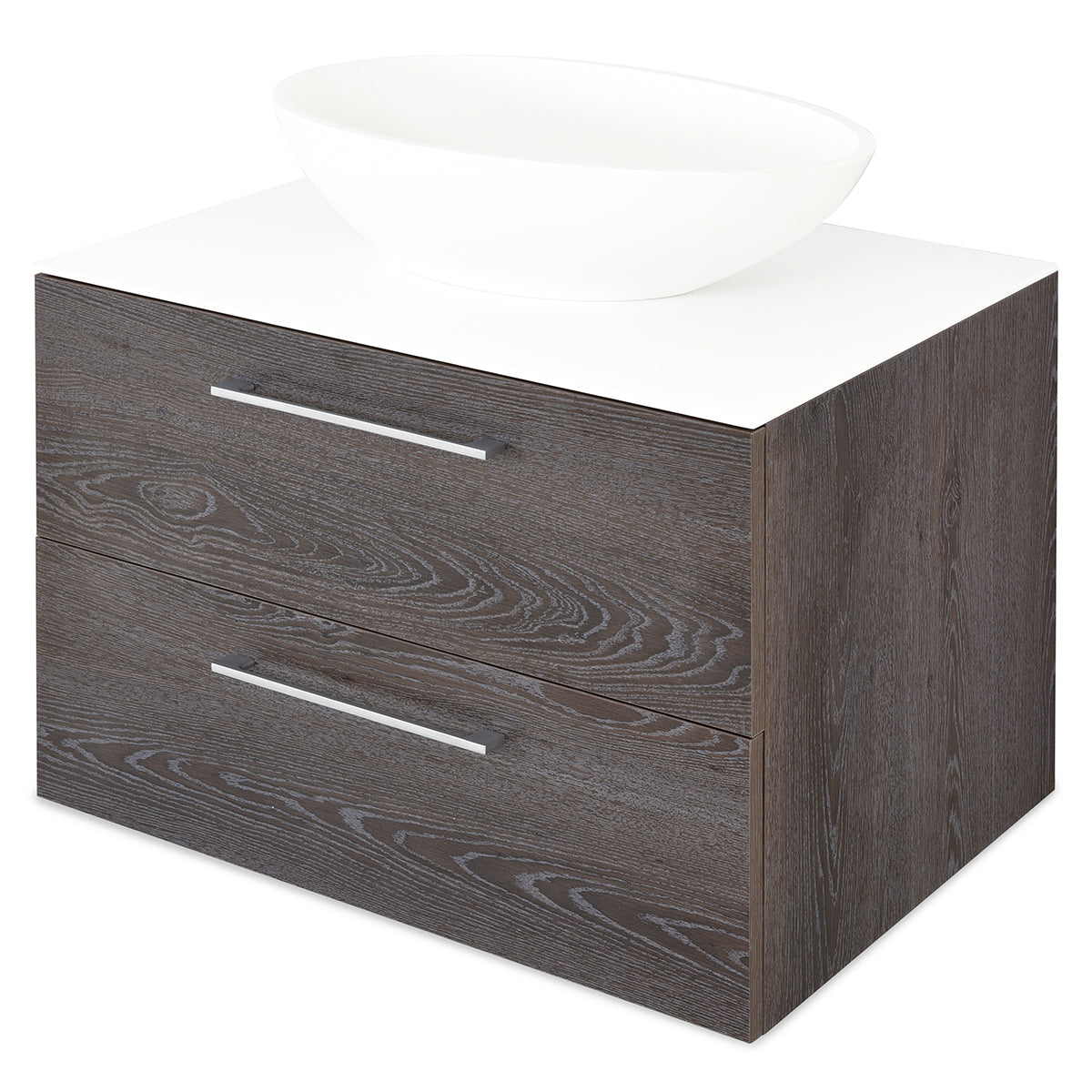 BATH Top corp lavoar, 52x75cm, solid surface