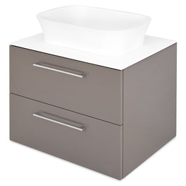 BATH Top corp lavoar, 52x65cm, solid surface