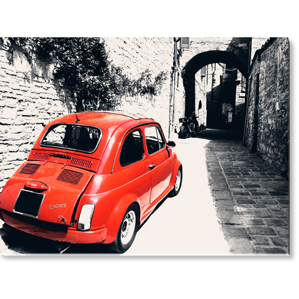 Tablou canvas 60x80 cm VINTAGE ITALIAN CAR