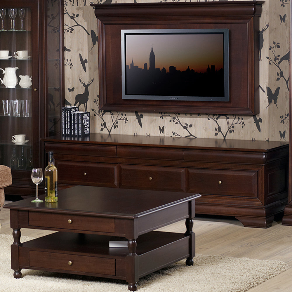 CHOCOLATE Comoda TV mare, 3 sertare