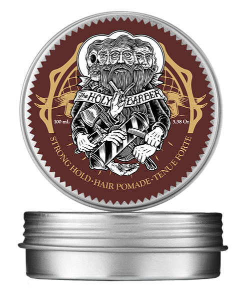 the holy barber strong hold pomade holy barber holybarber theholybarber cire pomade