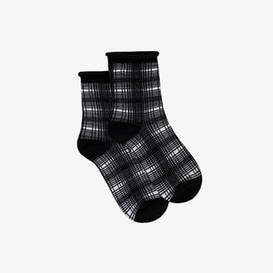 Winter Plaid Black