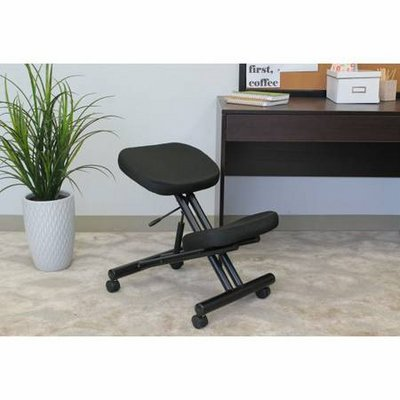 Boss Office Products Black Kneeling Stool - NEW!