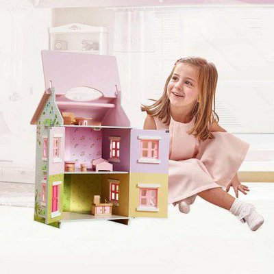 Sweet Pea Cottage Dollhouse - NEW!