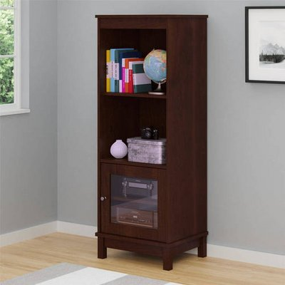 Mainstays Storage Bookcase (Brown) - NEW!