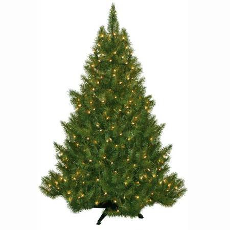 4.5 Ft. Pre-lit Artificial Christmas Tree - NEW!