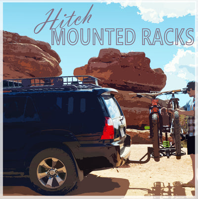 Meet the world's safest & top-rated hitch mounted bike racks on the market