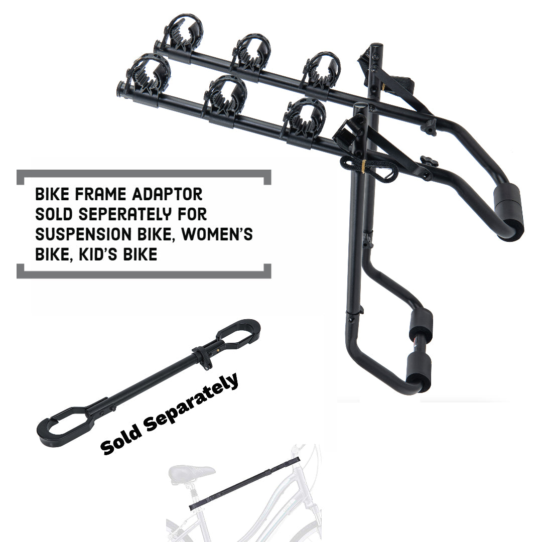 T1 Trunk Mounted Bike Rack - 3 Bike Carrier