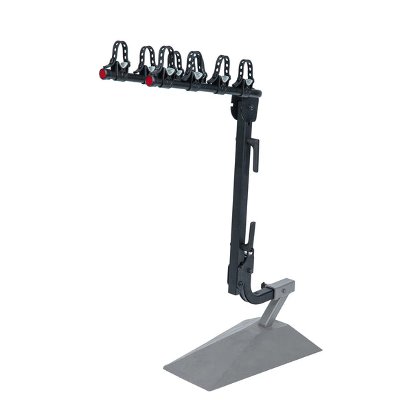 S4 Hitch Mounted Hanging Bike Rack - 4 Bikes (2 Inch Hitch Receiver)