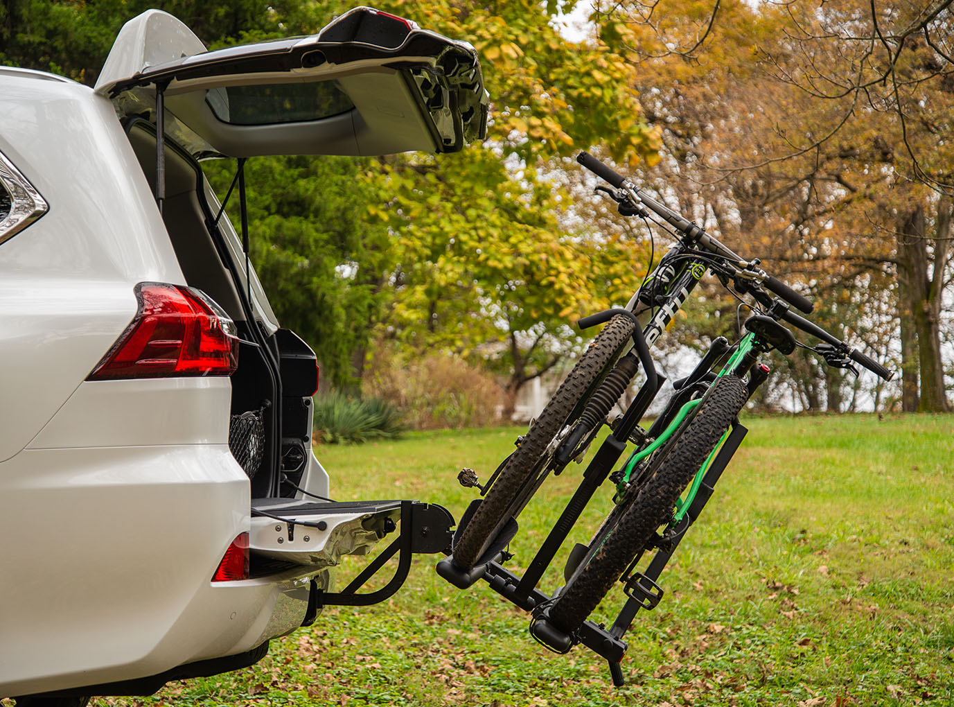C2 Premium Hitch Mounted Bike Rack