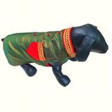 green dog kurta
