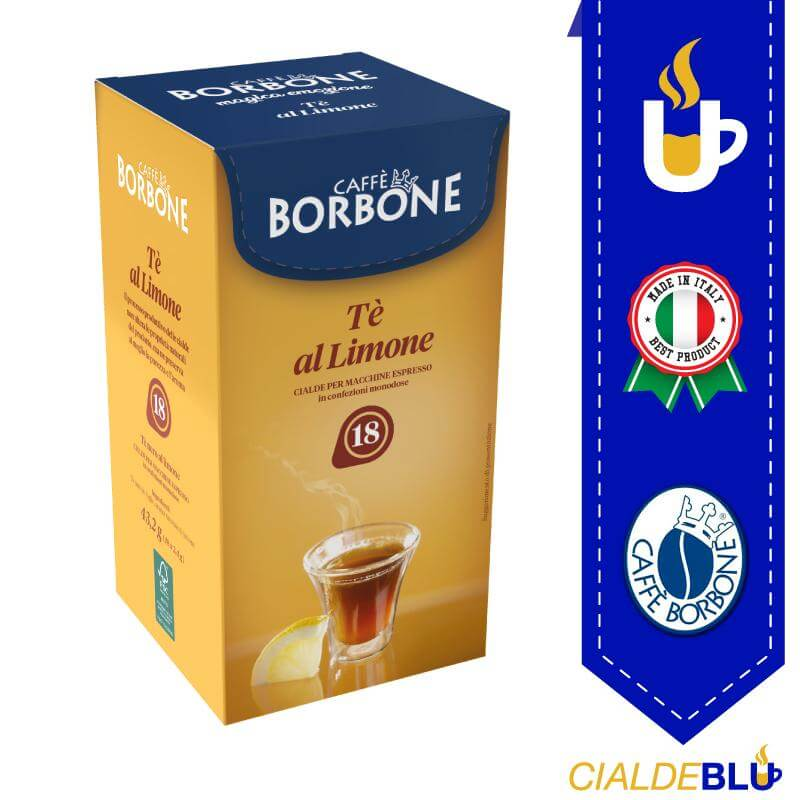Cialda ESE 44mm Borbone the' al limone