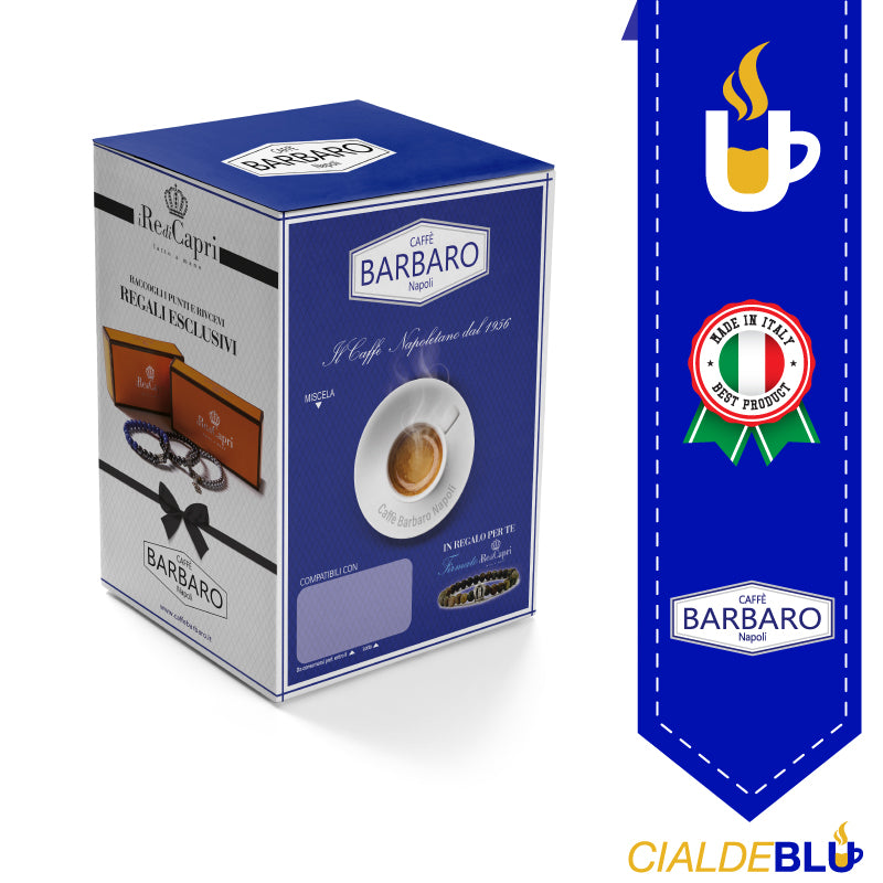 100 Capsule Barbaro Compatibili Espresso Point