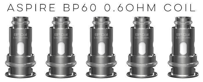 Aspire BP60 Replacement 0.3ohm Coils - Pack of 5