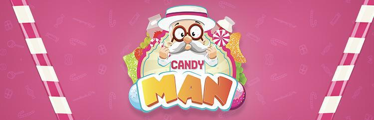 Candy Man Vape E Liquid Logo