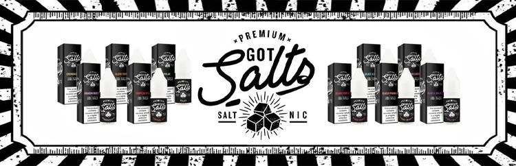Got Salts Salt Nic Vape E liquid Logo