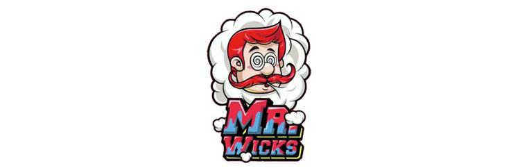 Mr Wicks Vape E Liquid Logo 50ml - UK Aspire Vendor