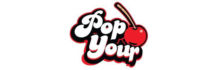 Pop Your Cherry 80ml Vape E Liquid Logo