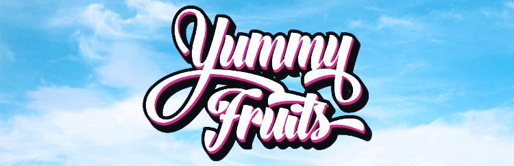 Yummy Fruits Vape E Liquid Logo