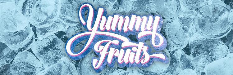 Yummy Fruits ICED Vape E Liquid Logo
